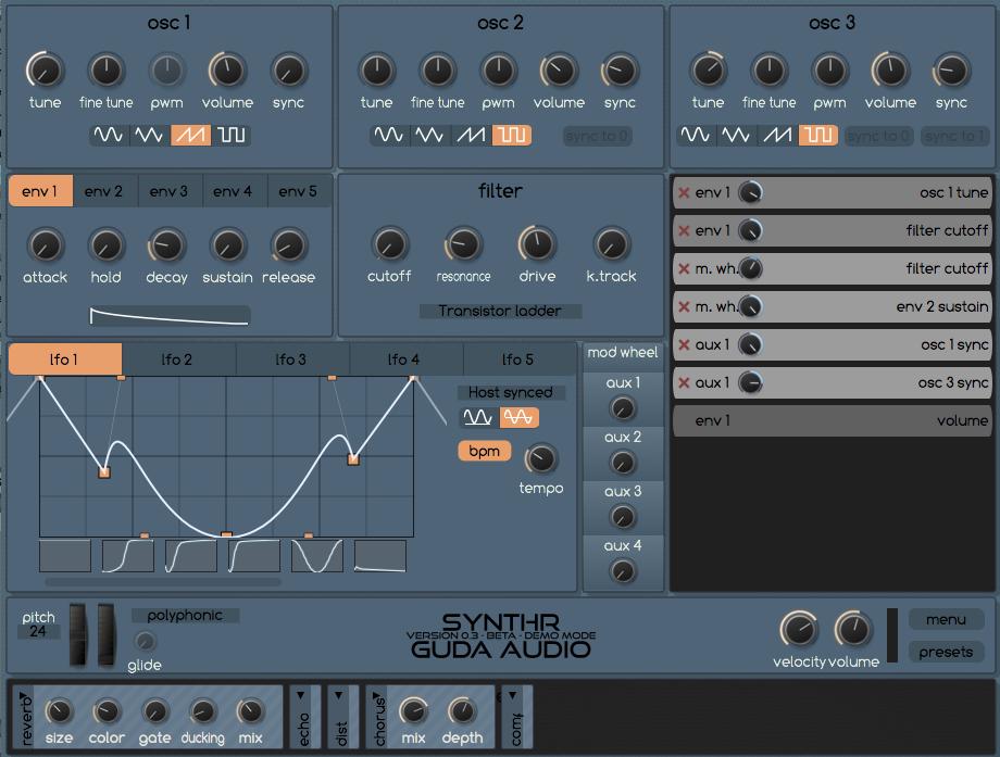 SynthR ♬ | GuDa Audio – Ry Manning